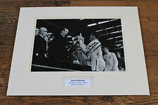 DAVE MACKAY Tottenham White Hart Lane Hero HAND SIGNED Photo Mount + COA Proof