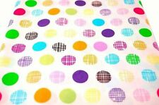 "Fat Quarters, Bundles Less than 45"" Unbranded Spotted Fabric"