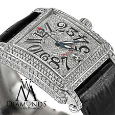 Diamond Franck Muller Conquistador Cortez 10000H SC Stainless Steel Watch