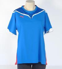 Puma USP Moisture Wicking Blue Konstrukt Athletic Shirt Womans Large L NWT