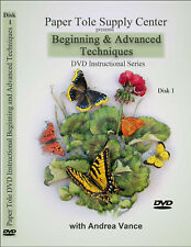 Learn Paper Tole DVD Beginning & Advanced Techniques