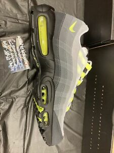 Nike Air Max 95 OG Neon 2020 Black/Green/Gray Size 13 Ds
