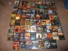 Huge lot of 77 Movies on DVD All In Good Condition Original Discs & Jewel Cases