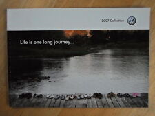 VOLKSWAGEN Accessories orig 2007 UK Mkt Sales Brochure - VW