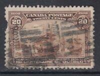 "Canada Scott #103 20 cent Cartier's Arrival ""Quebec Tercentenary""  *"