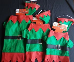 Christmas Accessories - Elf Pet Costume - Dog and Cat - Elves Behaving Badly