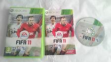 JUEGO COMPLETO FIFA 11 SOCCER 2011 MICROSOFT XBOX 360 PAL EUROPA UK. BUEN ESTADO