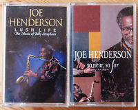 JOE HENDERSON - LUSH LIFE / SO NEAR SO FAR CASSETTE TAPE BUNDLE JAZZ VERVE