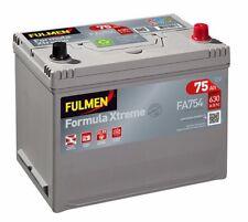 Batterie démarrage voiture Fulmen FA754 12v 75ah 630A livraison Express E24