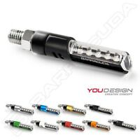 BARRACUDA COPPIA FRECCE LED IDEA UNIVERSALI INDICATORS SUZUKI GSR 600 750