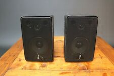 Hi-tex Micro 2-Way Altavoces de estantería Av Envolvente Mini Monitores Gabinetes De Abs
