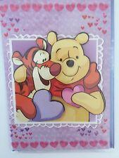 Carte Anniversaire Disney Winnie L'Ourson Enveloppe Illustrée