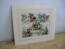 Antique James Gillray Print / Lithograph - Bread of Liberty - Bohn Edition - 95