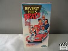 Beverly Hills Brats (VHS, 1990) Martin Sheen Terry Moore Peter Billingsley
