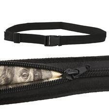 Travel Secret Waist Money Belt Hidden Security Zip Pouch Wallet Ticket Protect