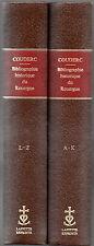 BIBLIOGRAPHIE HISTORIQUE DU ROUERGUE par Camille COUDERC + 2 volumes reliés