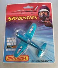 1973 SKY-BUSTERS SB-16 MATCHBOX CORSAIR F4U-4  BLUE MINT SEALED