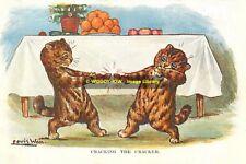 rp10186 - Louis Wain Cats - Cracking The Cracker - photograph 6x4