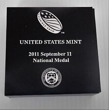 2011-W September 11 National Medal Silver Proof Dollar, Mint Packaging, S11