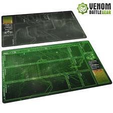More details for android netrunner lcg  playmats corp & runner shaper green / weyland grey set