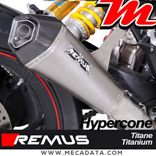 Silencieux Pot échappement Remus Hypercone titane Ducati Hypermotard 939 - 2017