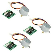 3 Sets Stepper Motor Dc5v 4 Phase For Arduino Replacement Practical Equipment