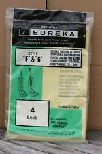 Eureka F&G Style Dust Bags Vacuum 4 pack Sealed