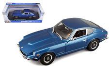 1971 Datsun 240Z 240 Z Nissan Fairlady Z Blue 1/18 Diecast Car Model By 31170