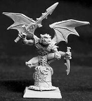 1 x GARGOUILLE - WARLORD REAPER miniature figurine jdr rpg d&d gargoyle 14028