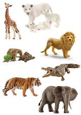Schleich Wild Life 85 Jahre Auswahl, Löwe, Tiger, Krokodil, Elefant, NEU