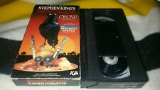 Disciples Of The Crow The Night Waiter VHS Horror Slasher