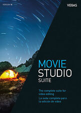 NEW Magix Movie Studio 14 Suite Video Editing WIN Electronic Delivery