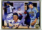 1992+Upper+Deck+Heroes+of+Baseball+Signed+Promo+NL+vs+AL+-+Perry%2C+Jenkins+%2B%2B