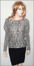 Lenny Cat Batwing Sleeve Jumper With Holes size UK 10/12  EUR 38/40