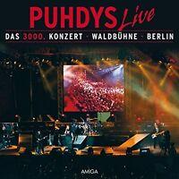 PUHDYS - DAS 3000.KONZERT  2 CD NEU