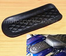 "Motorcycle 14.25"" Black Vinyl Rear Fender Bib For Solo Seat Harley Touring 08-18"