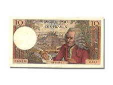 Billets de la banque française sur Voltaire