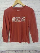 ! Kenneth Cole Reaction Men's Crew Long Sleeve T-Shirt Sz. M