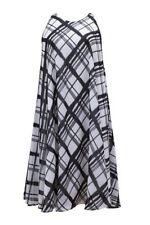 Summer Check Plus Size Dresses for Women