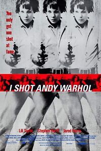 I SHOT ANDY WARHOL (1996) ORIGINAL MOVIE POSTER  -  ROLLED