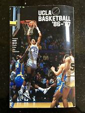 1986-1987 UCLA Basketball Media Guide