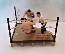 Aurora #861 Great Moments in Sport Dempsey vs Firpo Assembled Model