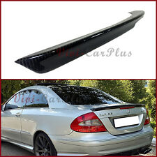 A Type Trunk Boot Spoiler 04-08 M-Benz W209 CLK500 CLK55 Coupe Carbon Fiber Wing