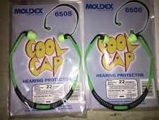 (2) MOLDEX Jazz/rock  Band Ear Plug  Protector 6508 Hearing Protection NRR 22 !!