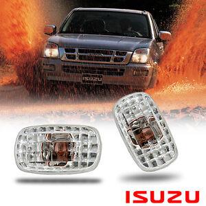 SIDE MARKER TURN SIGNAL LIGHT LAMP FIT ISUZU DMAX HOLDEN RODEO PICKUP 2002-2005