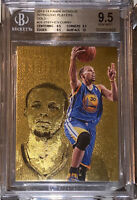 💎2013-14 Stephen Curry PANINI INTRIGUE GOLD #25 /10 BGS 9.5 w/10 sub PSA prizm