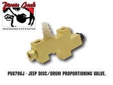 1987-1996 CJ XJ & YJ Jeep Proportioning Valve Disc Drum Wrangler Cherokee