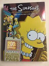 *** LIKE NEW *** The Simpsons - Season 9 (DVD, 2009, 4-Disc Set)