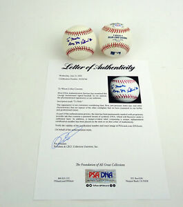 George Steinbrenner NY Yankees Owner Signed Autograph MLB Baseball PSA/DNA COA