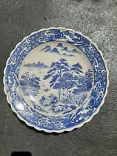 Japanese Blue and White Porcelain Charger plate